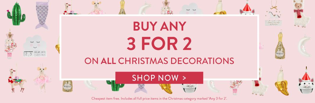Christmas 3 for 2 offer