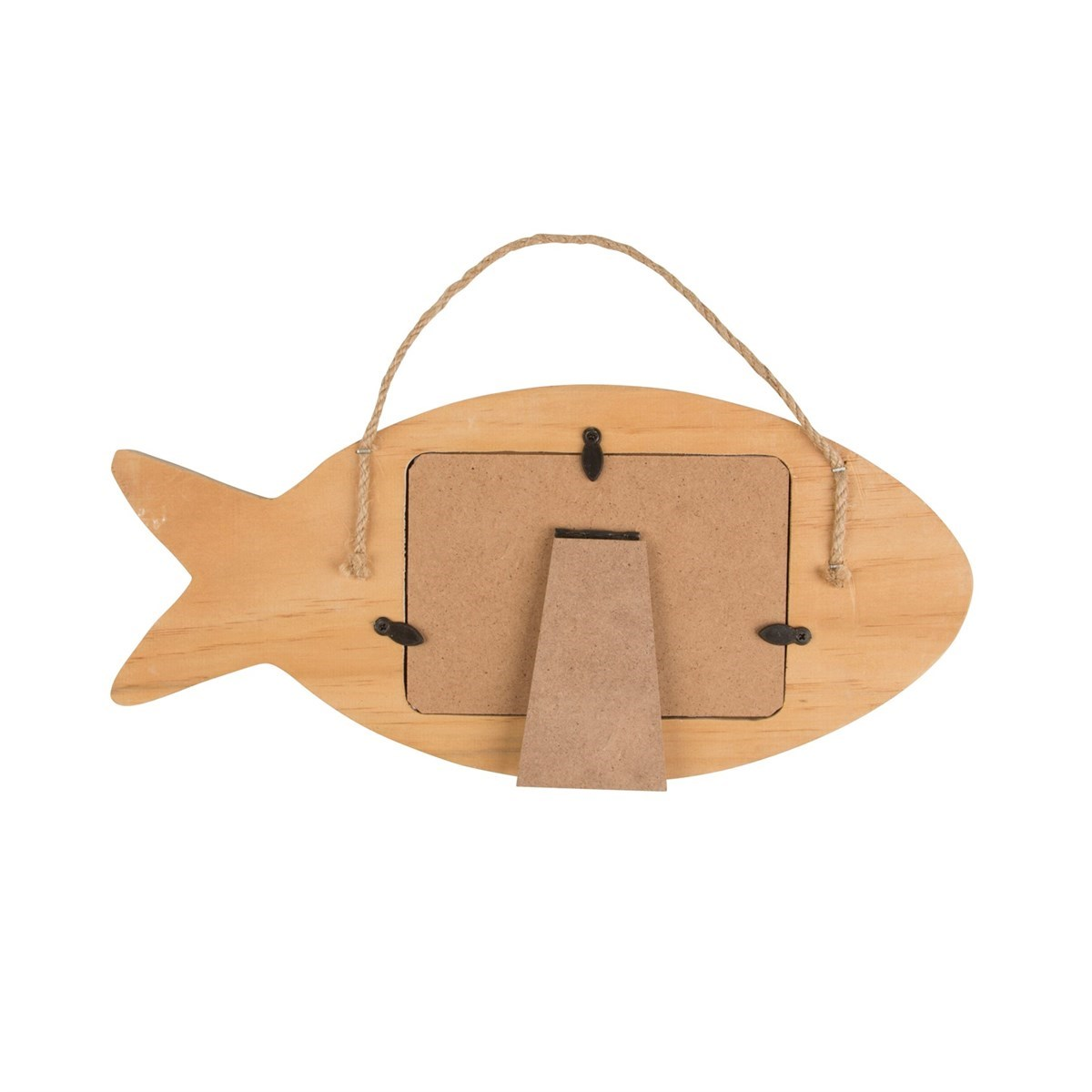 Rustic fish hanging standing photo frame for Fish photo frame