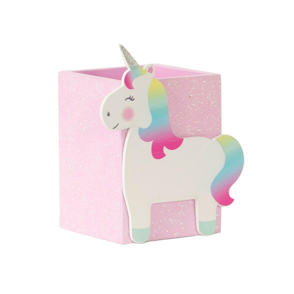 Betty The Rainbow Unicorn Pen Pot