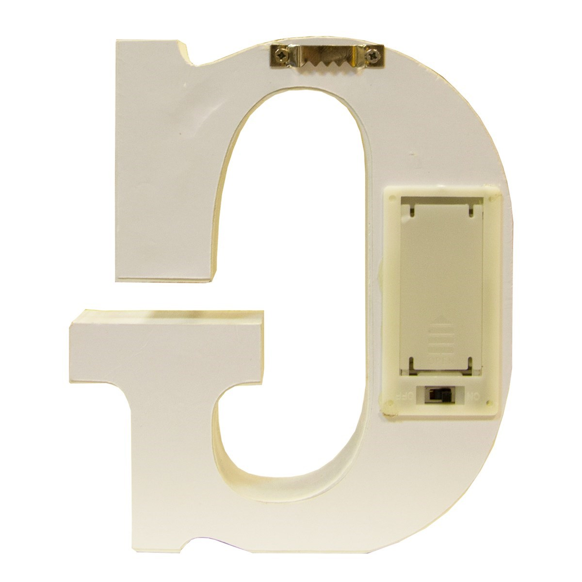 alphabet led light decoration letter g
