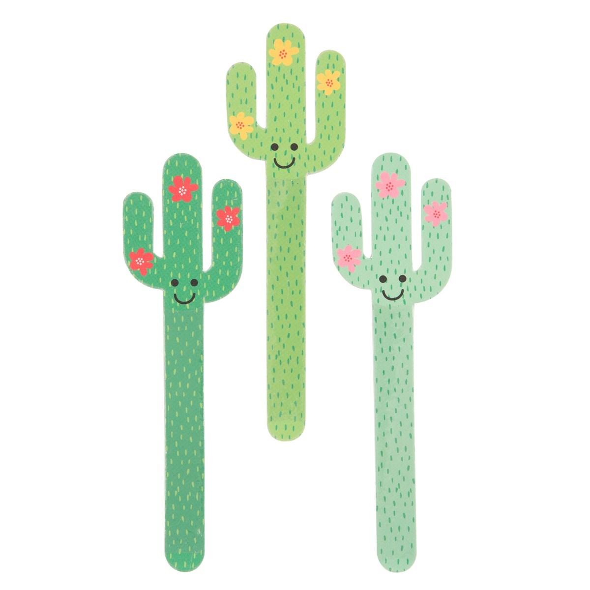 Colorful Cactus Nail File Alternative Image 1