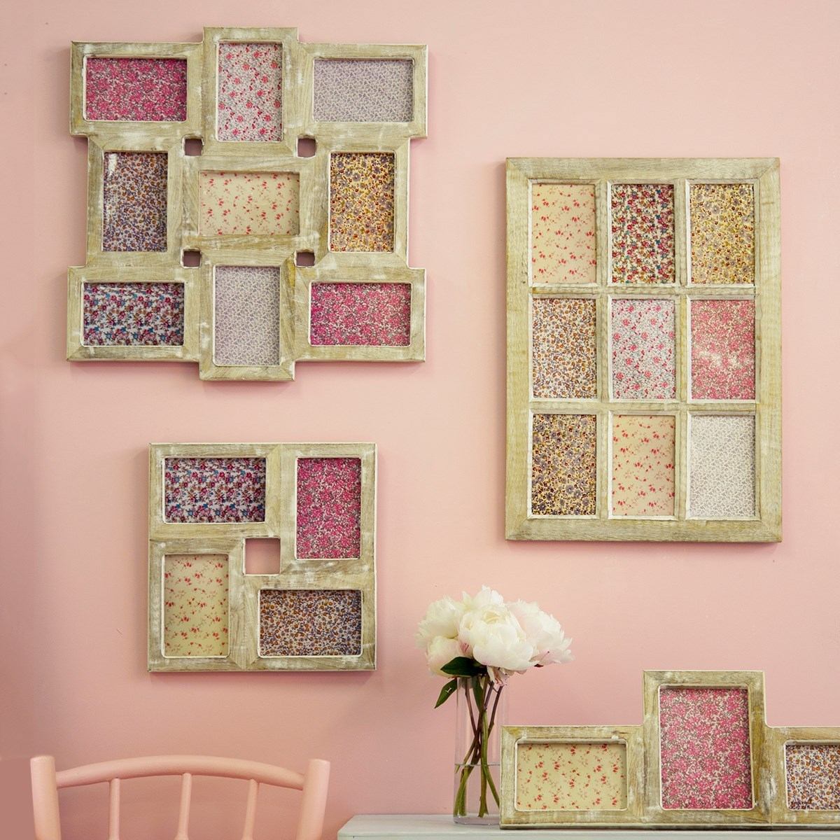 Old Fashioned Wooden Collage Picture Frames Mold - Picture Frame ...