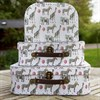 Set of 3 Party Safari Animals Suitcases Alternative Image 3