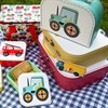 Fire Engine Square Lunch Box Alternative Image 4