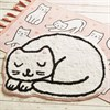 Cutie Cat Pink Tassel Rug Alternative Image 1