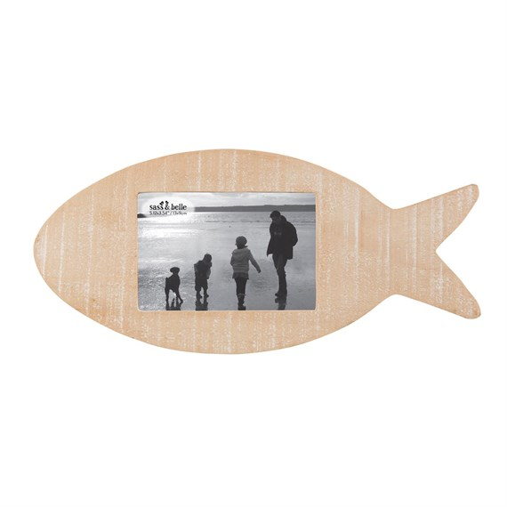 Rustic Fish Hanging & Standing Photo Frame