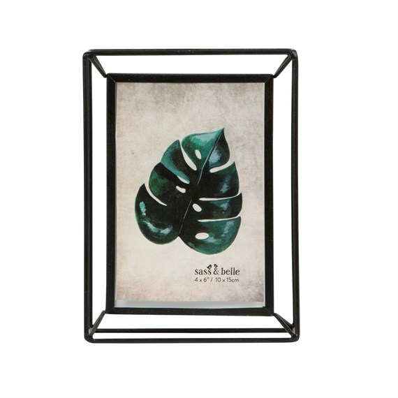 Scandi Boho Metal Photo Frame