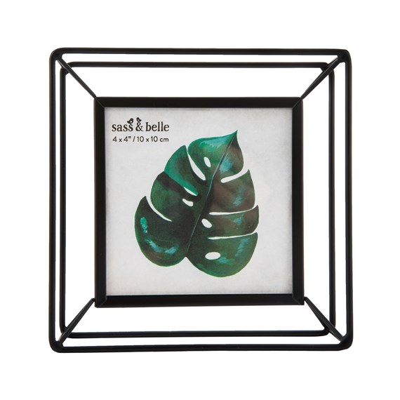Scandi Boho Square Metal Photo Frame