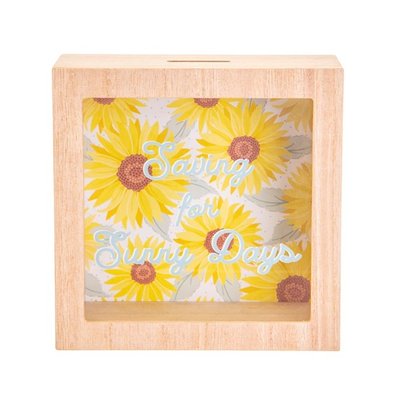 Sunflower Sunny Days Money Box