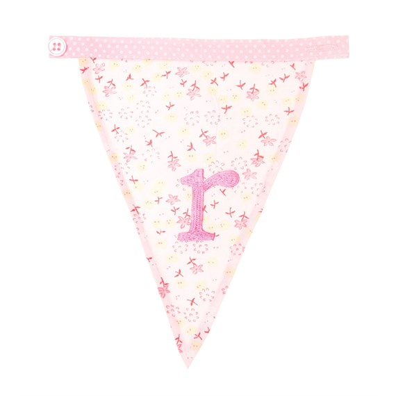 R Ditsy Single Alphabet Bunting