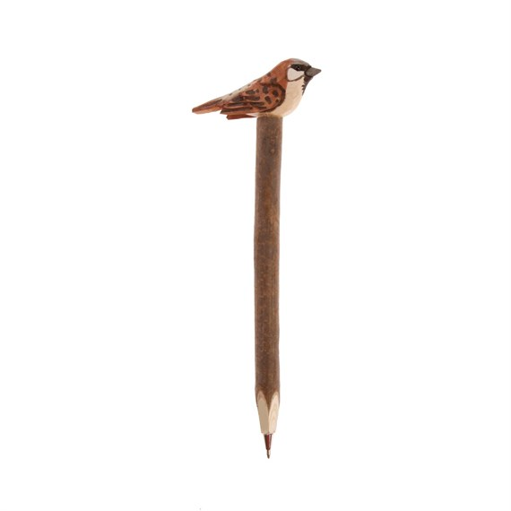 Brown Wooden British Birds Pens