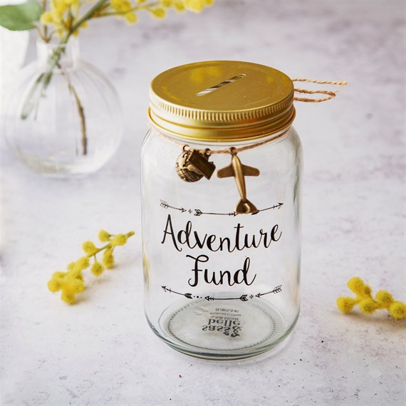 Adventure Fund Money Jar