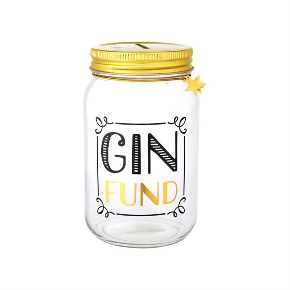 Gin Fund Money Jar