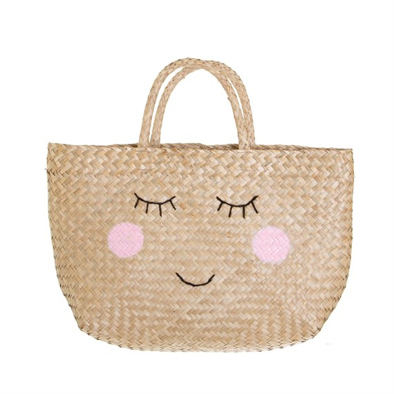 Seagrass Happy Shopping Bag