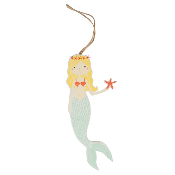 Mermaid Nautical Hanging Decoration