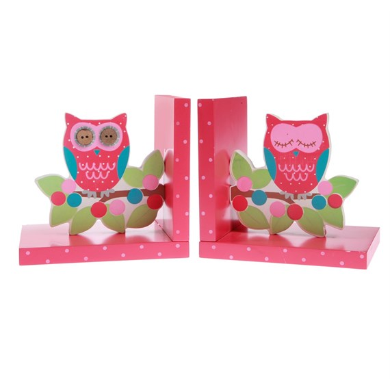 Owl & Branch Bookends
