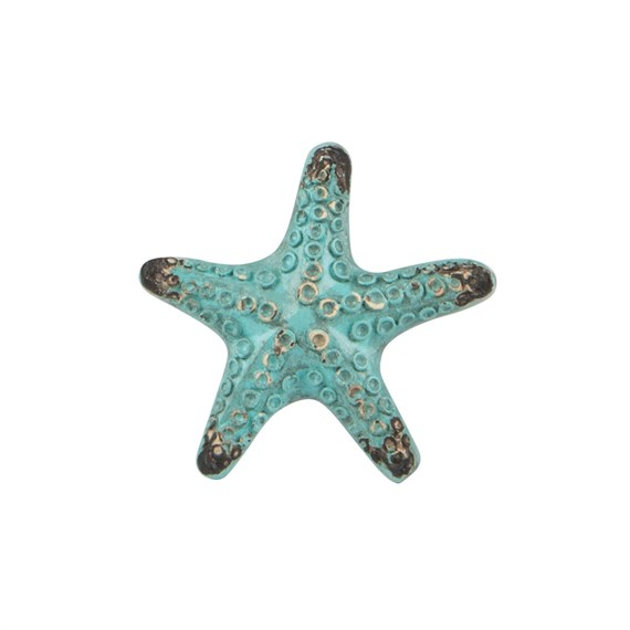 Vintage Starfish  Drawer Knob