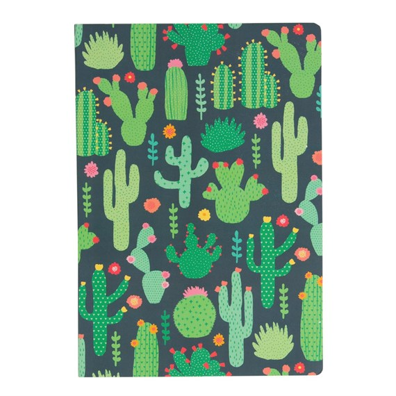 Colorful Cactus A5 Notebook