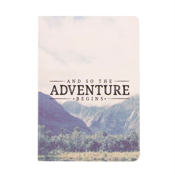 Blue Wanderlust Adventure A5 Notebook