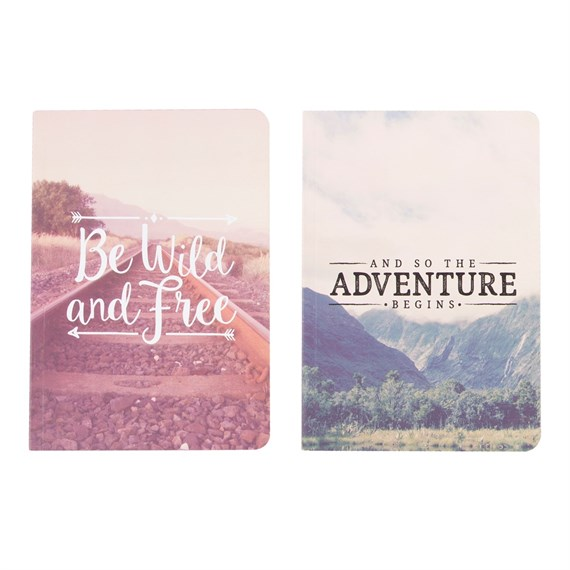 Wanderlust Adventure A5 Notebook (Options Available)