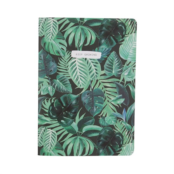 Botanical Jungle Keep Growing Notebook