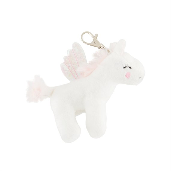 Betty The Rainbow Unicorn Plush Bag Charm