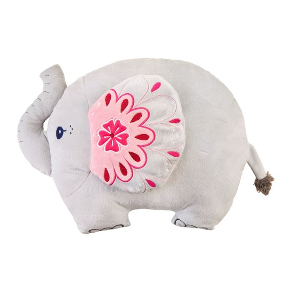 Mandala Elephant Decorative Cushion