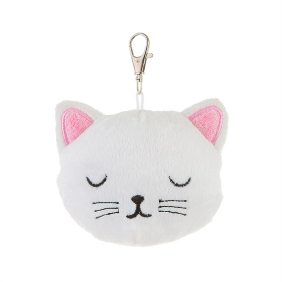 Cutie Cat Plush Bag Charm