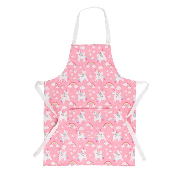 Rainbow Unicorn Kid's Apron
