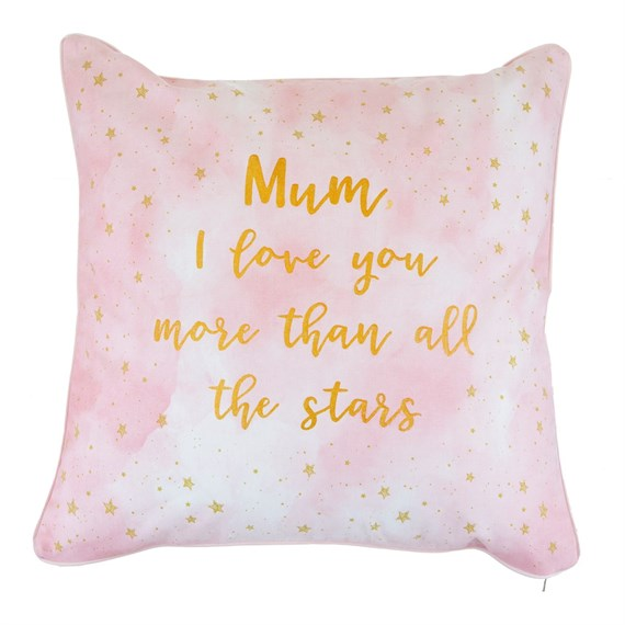 Scattered Stars Mum Love You More Cushion