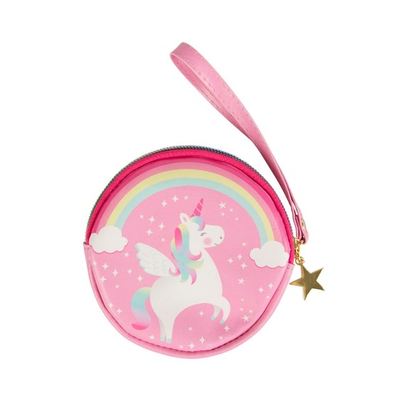 Rainbow Unicorn Coin Purse