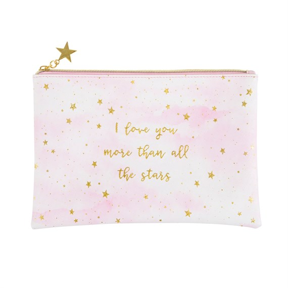 Scattered Stars Love You More Pouch