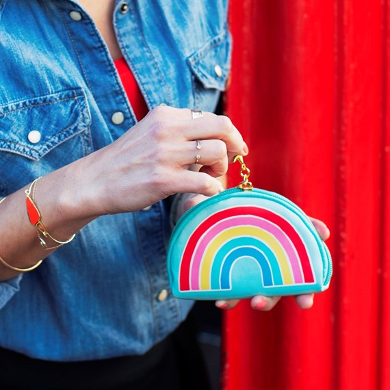 Chasing Rainbows Shaped Coin Purse