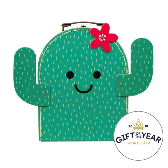 Happy Cactus Suitcase