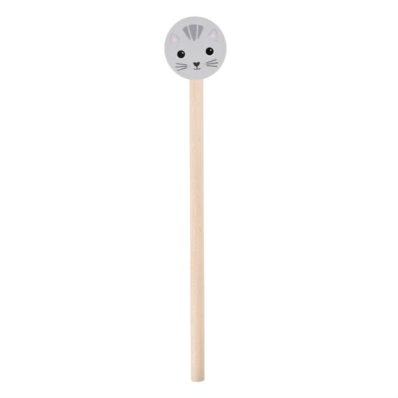 Nori Cat Pencil With Eraser