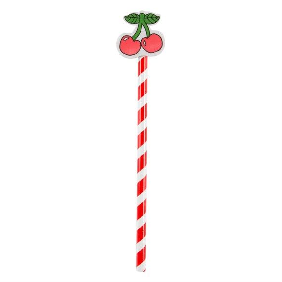 Cherry Stem Pencil Topper