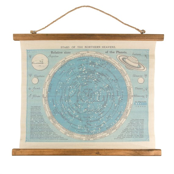 Star Constellations Canvas Print