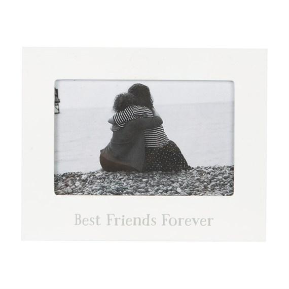 Best Friends Forever Photo Frame White