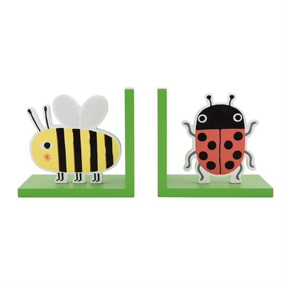Busy Bugs Bookends