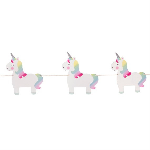 Rainbow Unicorn Bunting