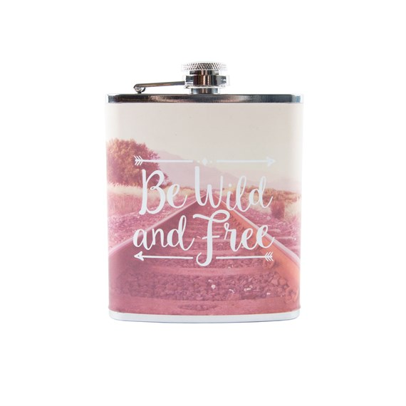 Wanderlust Adventure Hip Flask
