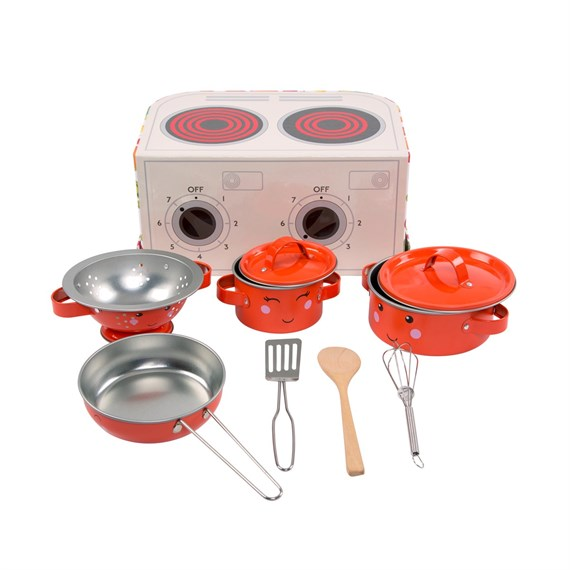 Happy Fruit & Veg Play Cooking Set
