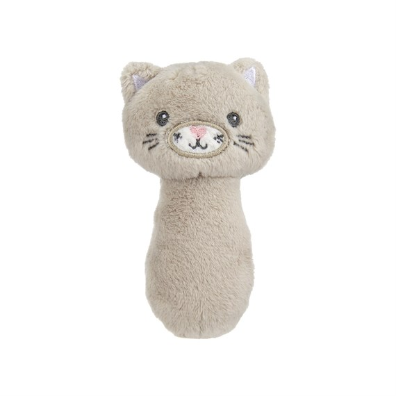 Kitty Cat Baby Rattle