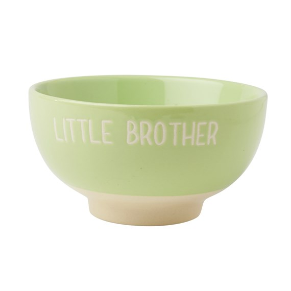 Little Brother Cereal Bowl Green