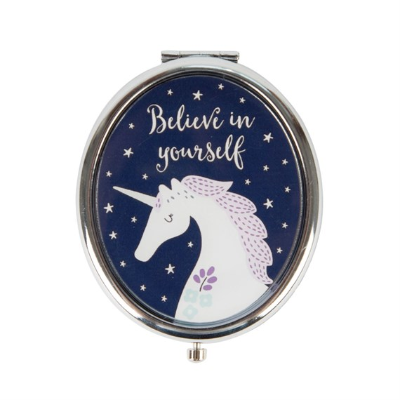 Starlight Unicorn Compact Mirror