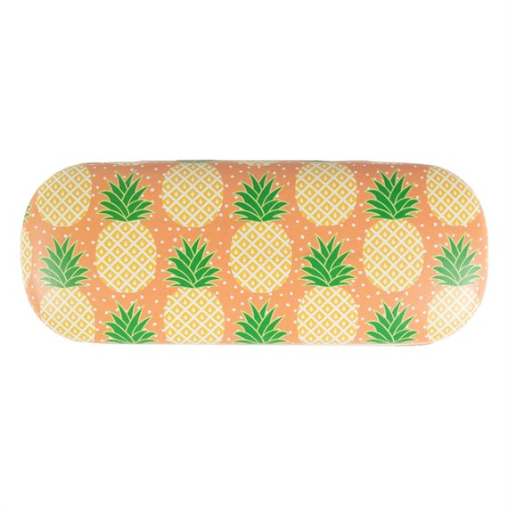 Tropical Pineapple Glasses Case