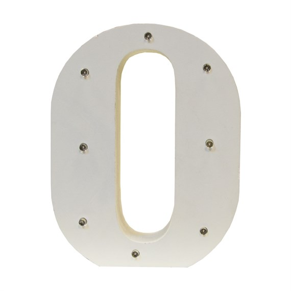 Alphabet LED Light Decoration Letter O