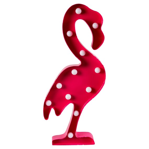 Flamingo LED Light Wall Decoration Pink
