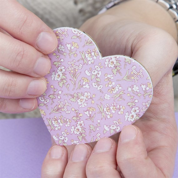 Grace Floral Heart Shaped Nail File