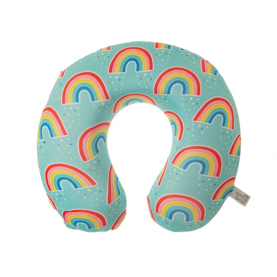 Chasing Rainbows Travel Neck Pillow